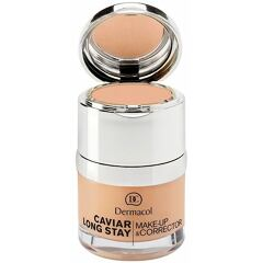 Makeup Dermacol Caviar Long Stay Make-Up & Corrector 30 ml 1 Pale