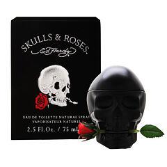 Toaletní voda Christian Audigier Ed Hardy Skulls & Roses 100 ml