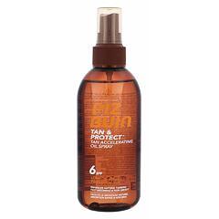Opalovací přípravek na tělo PIZ BUIN Tan & Protect Tan Accelerating Oil Spray SPF6 150 ml