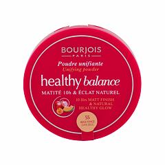 Pudr BOURJOIS Paris Healthy Balance 9 g 55 Dark Beige