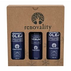Tělový olej Renovality Original Series Argan Oil 100 ml Kazeta