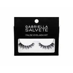 Umělé řasy Gabriella Salvete False Eyelashes 1 ks Black Kazeta