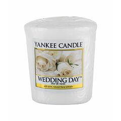 Vonná svíčka Yankee Candle Wedding Day 49 g