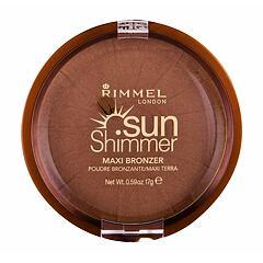 Bronzer Rimmel London Sun Shimmer Maxi 17 g 004 Sun Star