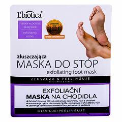 Krém na nohy L´Biotica Foot Mask Exfoliating 1 ks
