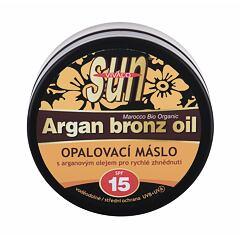 Opalovací přípravek na obličej Vivaco Sun Argan Bronz Oil SPF15 200 ml