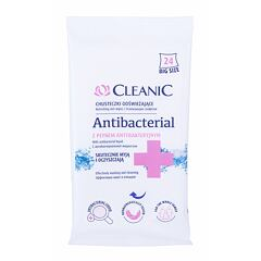Antibakteriální přípravek Cleanic Antibacterial Refreshing Wet Wipes 24 ks