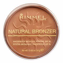 Bronzer Rimmel London Natural Bronzer SPF15 14 g 025 Sun Glow