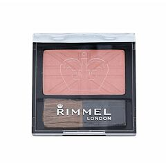 Tvářenka Rimmel London Lasting Finish Soft Colour Mono 4,5 g 120 Pink Rose