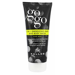 Sprchový gel Kallos Cosmetics Gogo 2 in 1 Energizing Hair And Body Wash