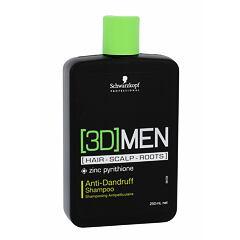 Šampon Schwarzkopf Professional 3DMEN 250 ml