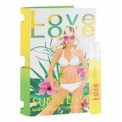 Toaletní voda Love Love  Sun & Love 1,6 ml Vzorek