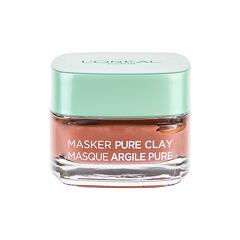 Pleťová maska L´Oréal Paris Pure Clay Glow Mask 50 ml