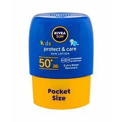 Opalovací přípravek na tělo Nivea Sun Kids Protect & Care Sun Lotion SPF50+ 50 ml
