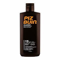 Opalovací přípravek na tělo PIZ BUIN Allergy Sun Sensitive Skin Lotion SPF15 200 ml