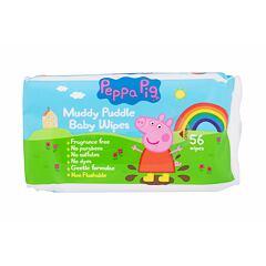Čisticí ubrousky Peppa Pig Peppa Baby Wipes 56 ks