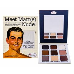 Oční stín TheBalm Meet Matt(e) Nude Eyeshadow Palette 25,5 g