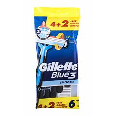 Holicí strojek Gillette Blue3 Smooth 6 ks