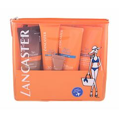 Opalovací přípravek na tělo Lancaster Sun Beauty Velvet Milk SPF30 50 ml Kazeta