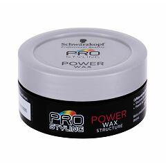 Vosk na vlasy Schwarzkopf Professional Pro Styling Power Wax 75 ml