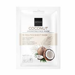 Pleťová maska Gabriella Salvete 15 Minutes Sheet Mask Coconut 1 ks