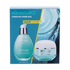 Pleťový gel Biotherm Aquasource Hydration Power Duo 50 ml Kazeta