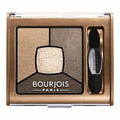Oční stín BOURJOIS Paris Smoky Stories Quad Eyeshadow Palette 3,2 g 06 Upside Brown