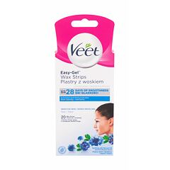 Depilační přípravek Veet Easy-Gel™ Wax Strips Sensitive Skin 20 ks