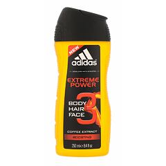 Sprchový gel Adidas Extreme Power 2in1