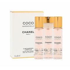 Toaletní voda Chanel Coco Mademoiselle Náplň 3x20 ml