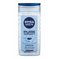 Sprchový gel Nivea Men Pure Impact 250 ml