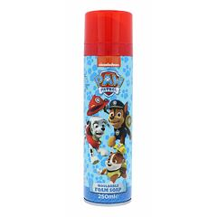 Sprchová pěna Nickelodeon Paw Patrol Mouldable Foam Soap 250 ml