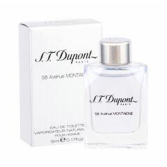 Toaletní voda S.T. Dupont 58 Avenue Montaigne Pour Homme 5 ml