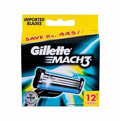 Náhradní břit Gillette Mach3 12 ks