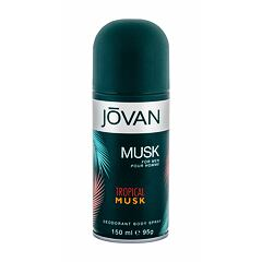 Deodorant Jovan Tropical Musk 150 ml