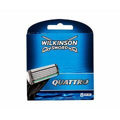 Náhradní břit Wilkinson Sword Quattro 8 ks