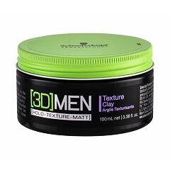 Pro definici a tvar vlasů Schwarzkopf Professional 3DMEN Texture Clay 100 ml