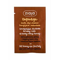Samoopalovací přípravek Ziaja Cupuacu Self-Tanning Wipe Face & Body 1 ks