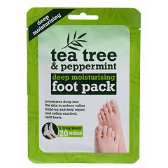 Krém na nohy Xpel Tea Tree Tea Tree & Peppermint Deep Moisturising Foot Pack