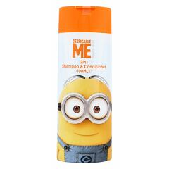 Šampon Minions Hair Care 2in1 Shampoo & Conditioner 400 ml