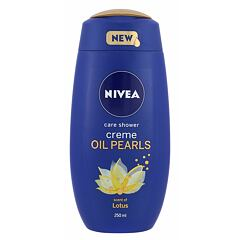 Sprchový gel Nivea Creme Oil Pearls Lotus 250 ml