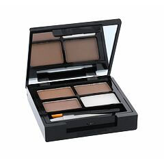 Set a paletka na obočí Makeup Revolution London Focus & Fix Eyebrow Shaping Kit 5,8 g Medium Dark