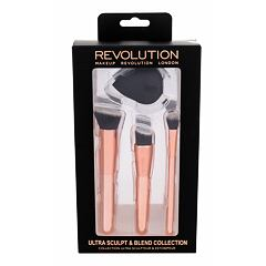 Štětec Makeup Revolution London Brushes Ultra Sculpt & Blend Collection 1 ks Kazeta