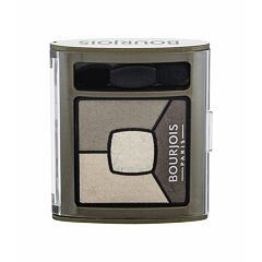 Oční stín BOURJOIS Paris Smoky Stories Quad Eyeshadow Palette 3,2 g 04 Rock This Khaki