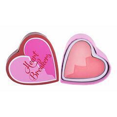 Tvářenka I Heart Revolution Heartbreakers Matte Blush 10 g Brave