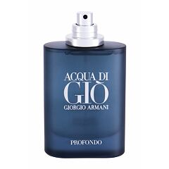Parfémovaná voda Giorgio Armani Acqua di Giò Profondo 75 ml Tester