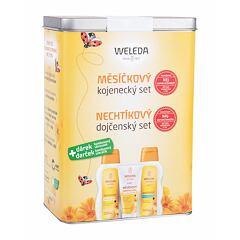 Tělový olej Weleda Baby Calendula Oil Set 200 ml Kazeta