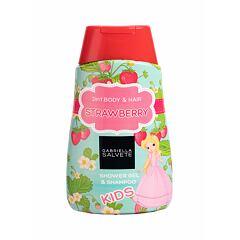 Sprchový gel Gabriella Salvete Kids Strawberry 2in1 300 ml
