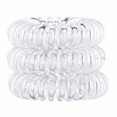 Gumička na vlasy Invisibobble The Traceless Hair Ring 3 ks Crystal Clear