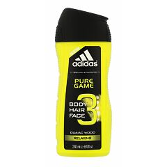 Sprchový gel Adidas Pure Game 3in1 250 ml